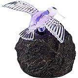 Globo LED Funktion Outdoor Solar Rock mit Vogel Lampe