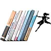 Artori Design-Supergirl Bookend,Super Mujer que Sujeta libros,metal, color