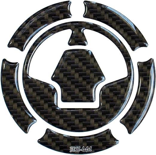 Tankdeckel Pad 3d 640008 Carbon Braun Tank Schutz Passend Für Kawasaki Tank Auto