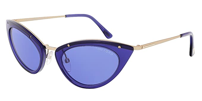 Tom Ford Grace Sunglasses in Shiny Blue