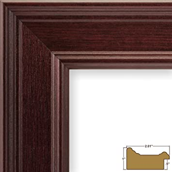 craig frames fm97ma2436dac 2 inch wide pictureposter frame in smooth grain finish