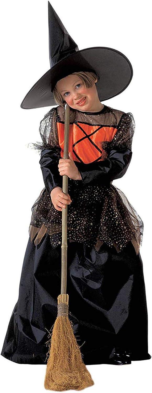 WIDMANN Widman - Disfraz de halloween bruja para niño, talla 13 años (38858)