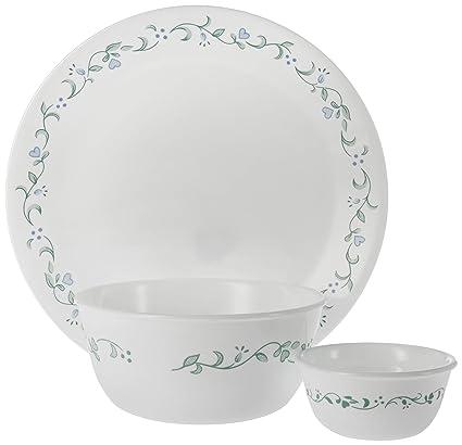 Amazon.com: Corelle Livingware 10-1/4-Inch Dinner Plate, Country ...