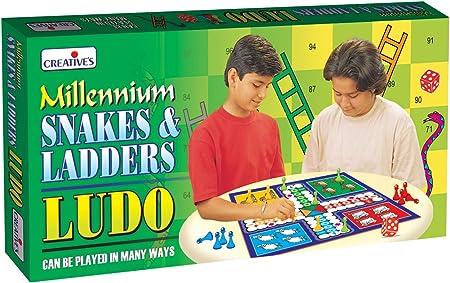 Creative Educational - Juego de Miniatura Culebra, de 1 a 4 Jugadores (CRE0821) (versión en inglés): Amazon.es: Juguetes y juegos