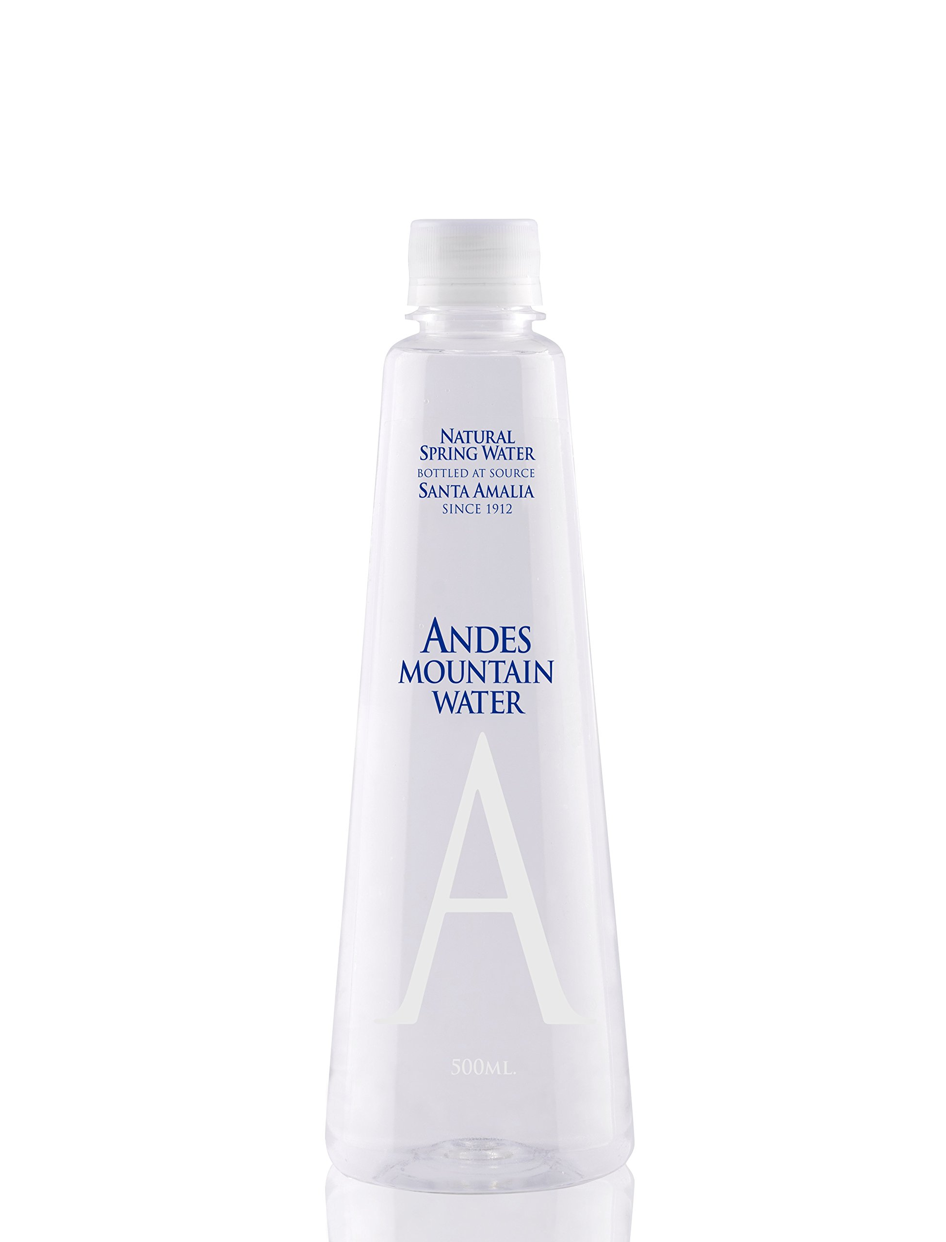 Andes Mountain Spring Water - Still(500ml or 16.9oz) 12 bottles pk