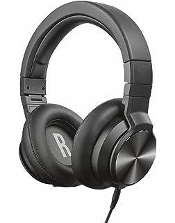 Trust Urban DJ-500PRO - Auriculares de DJ para PC y portátil, Color Negro