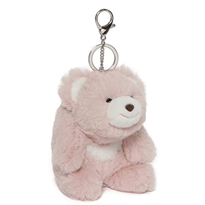 "GUND Snuffles Teddy Bear Stuffed Plush Keychain, Rose Pink, 5\"": Toys & Games [5Bkhe1402393]"