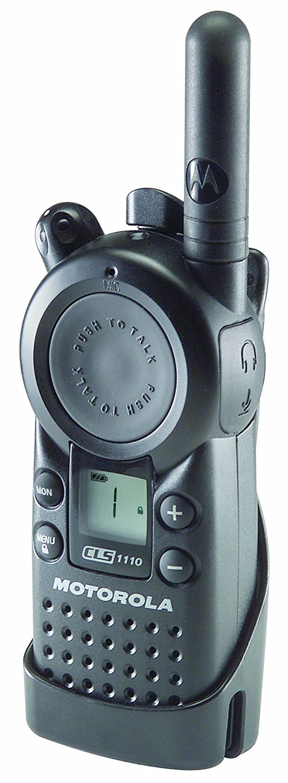 Motorola Professional CLS1410 5-Mile 4-Channel UHF Two-Way Radio Motorola Solutions