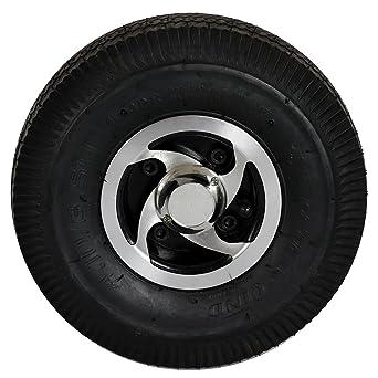 De metal fundido RUEDA trasera con manguera y abrigo 4.10/3.50 – 4 4PR para