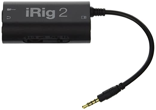 83 opinioni per IK Multimedia iRig 2 Interfaccia per chitarra per iPhone, iPad, Mac, Nero