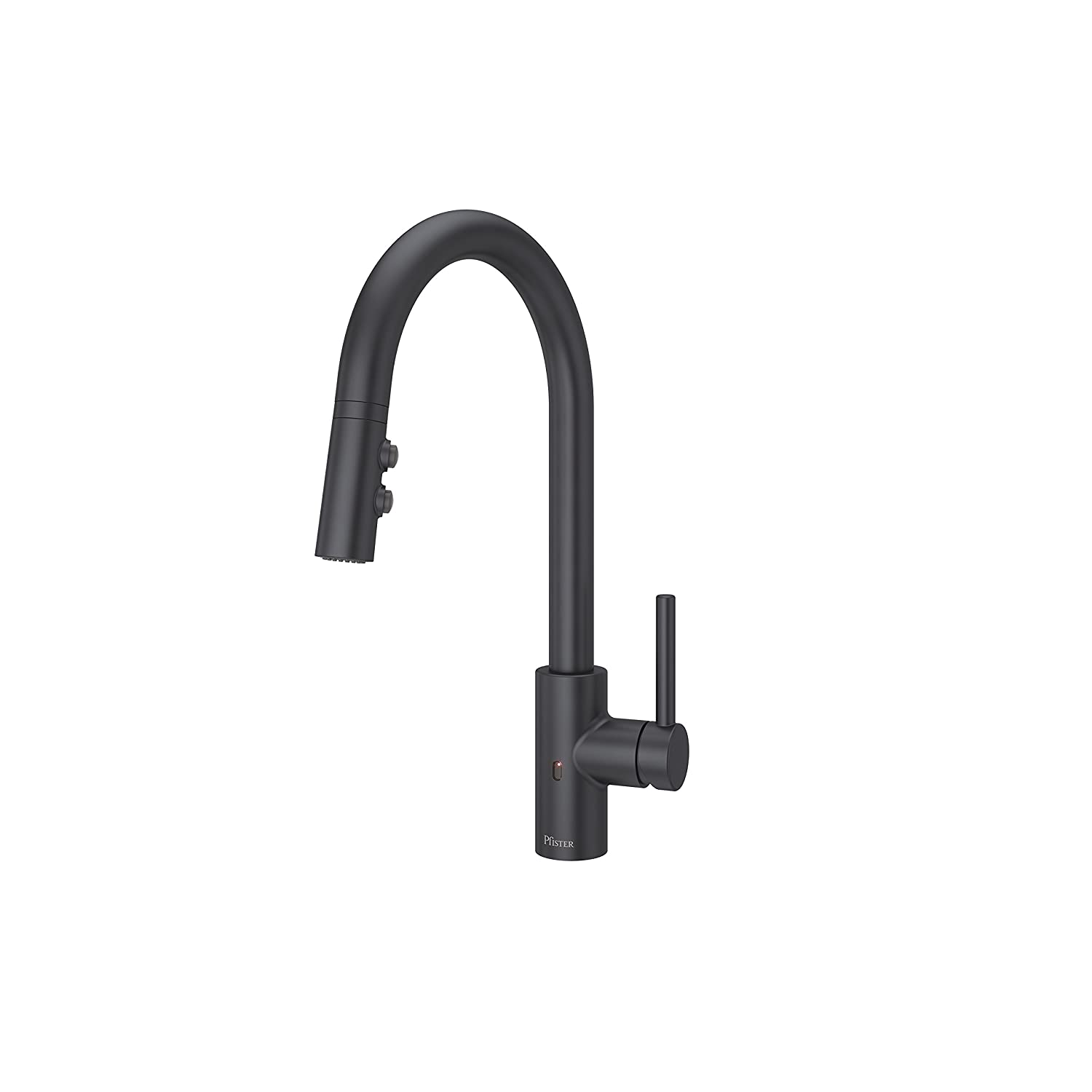 Pfister LG529ESAB Stellen React Touch-Free 1-Handle Electronic Pull-Down Kitchen Faucet Matte Black