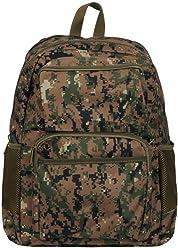 de7150230108 Wilsons Leather Mens Canvas Waterresistant Backpack
