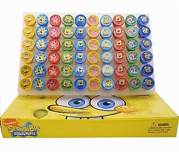 Sponge Bob Self Ink Stamps Birthday Party Favors Gift Bag Filler Stampers