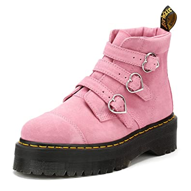 4089131cfe46 Dr. Martens Womens Lazy OAF Pink Buckle Boots-UK 9  Amazon.fr ...