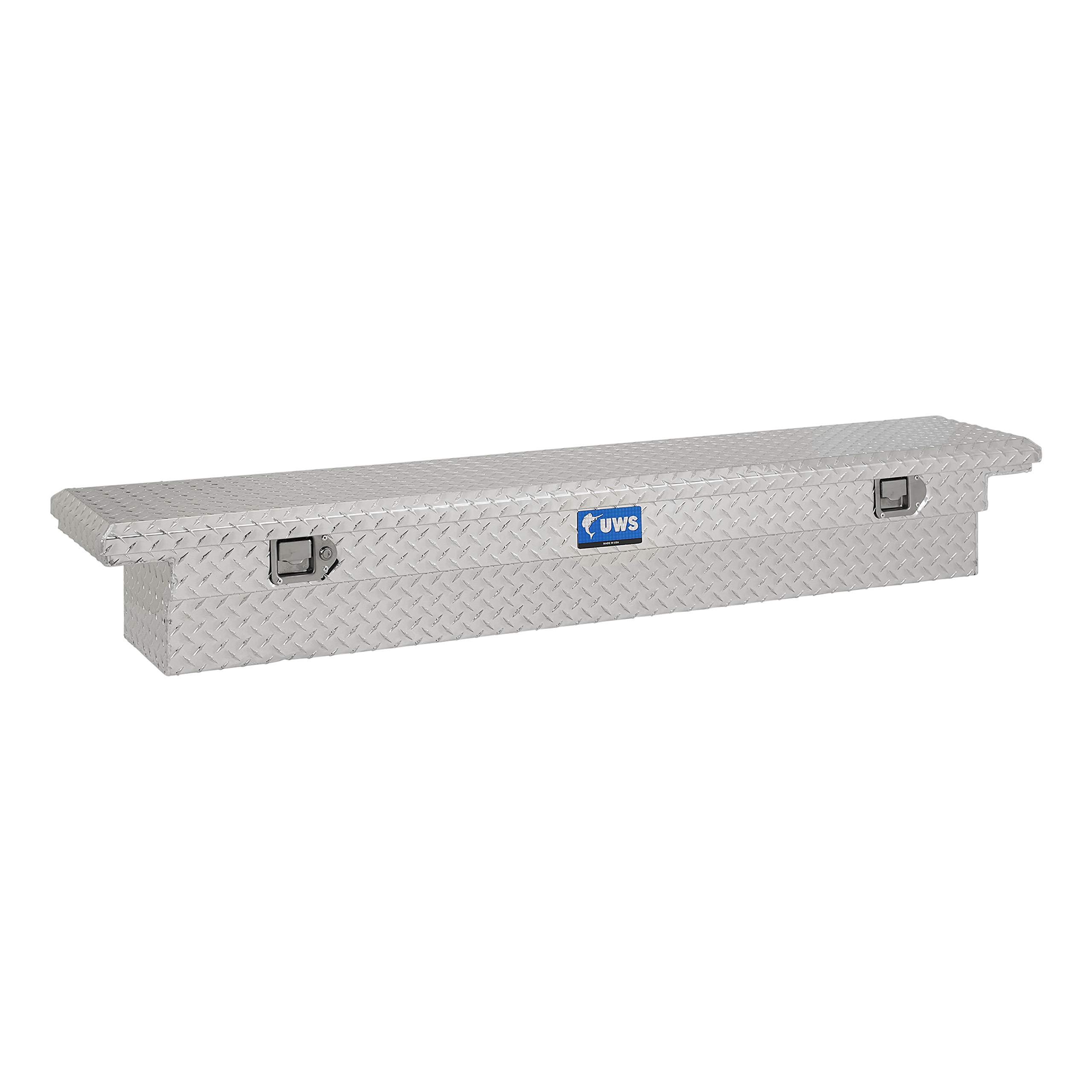 UWS EC10541 69-Inch Aluminum Slim Truck Tool Box with Low Profile