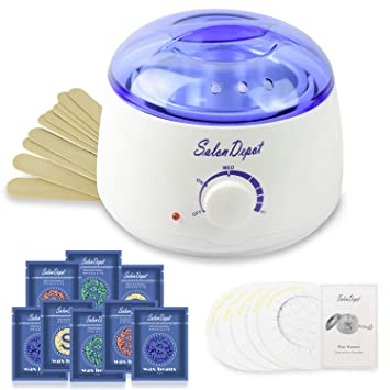 Amazon Com Waxing Kit 25 In 1 Wax Warmer Hair Removal Machine