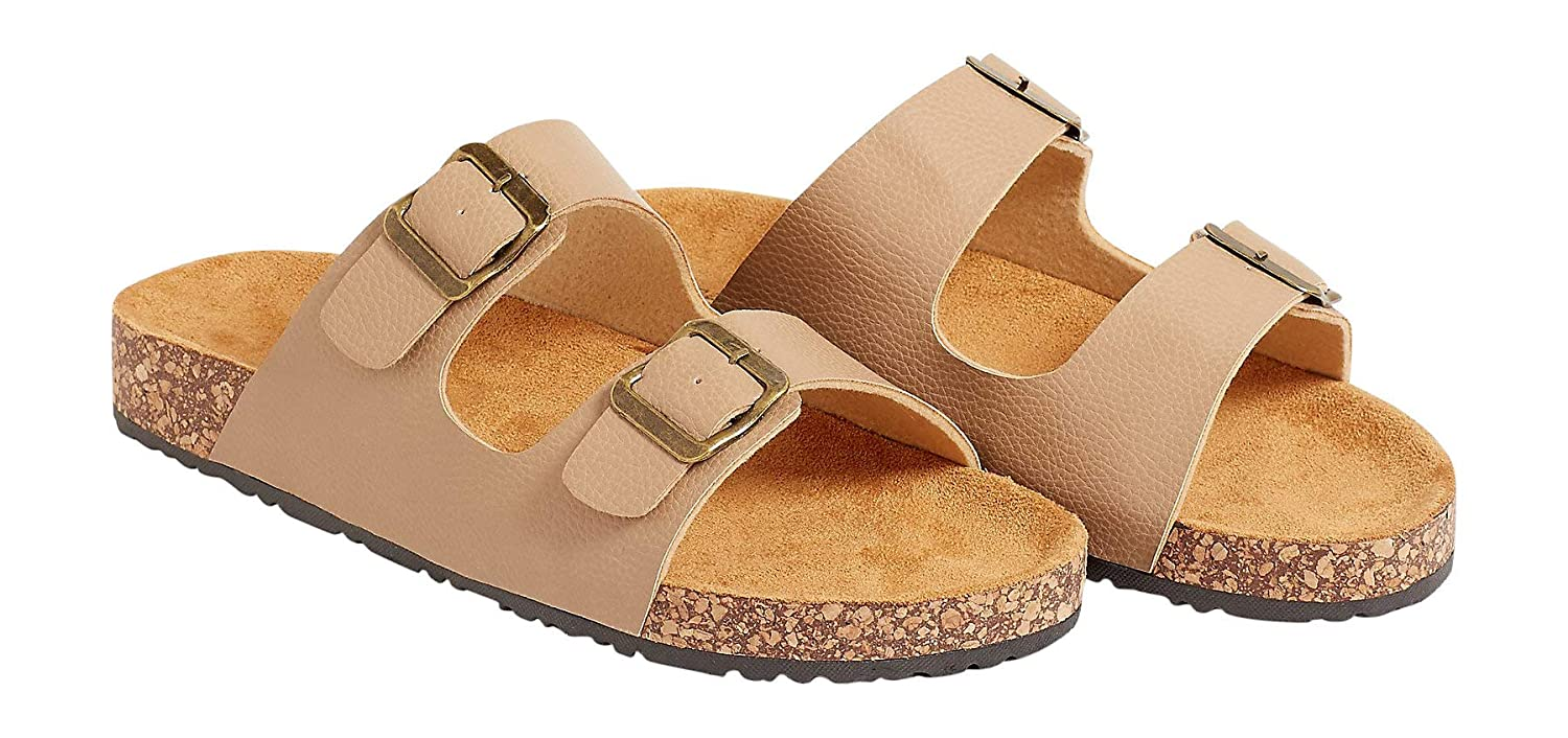 62ad4aa098e Amazon.com | Maurices Women's Alyssa Double Strap Molded Footbed ...