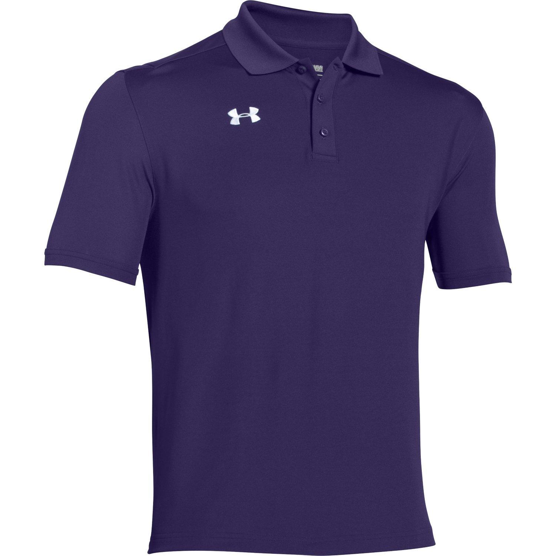 Under Armour Team Armour Men's Golf Polo (Purple, Small)