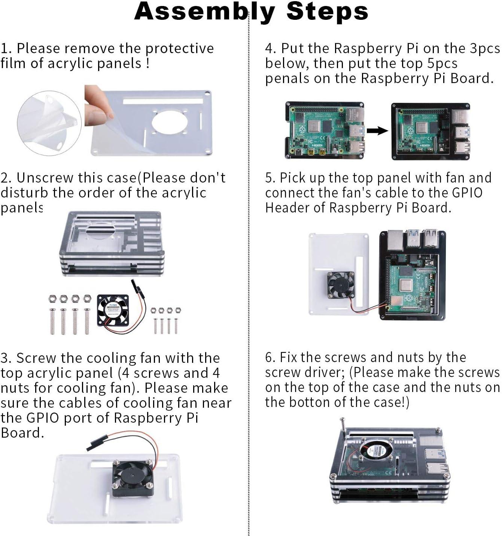 Set of 3PCS Aluminum Kühlkörper Kühler Heatsink Sit für Raspberry Pi NEU
