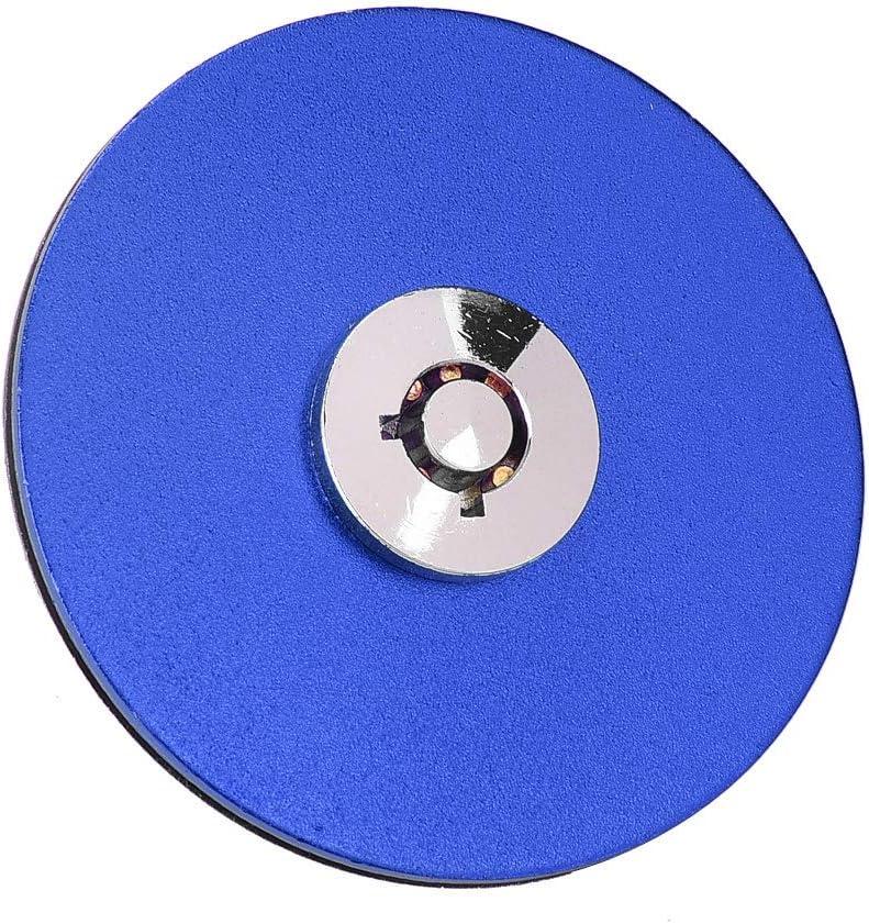 Acouto Car Hood Lock Pin Aluminum Alloy Universal Engine Hood Lock Key Pin Kit Blue