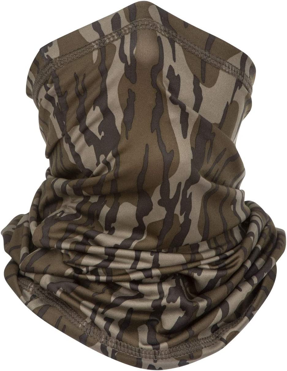 North Mountain Gear Mossy Oak Camouflage Poly Stretch Fit Neck Gaiter