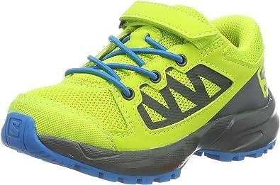 Salomon XA Elevate K, Zapatilla de Trail Running para Niños, Verde (Acid Lime/Urban Chic/Hawaiian Surf), 28 EU: Amazon.es: Zapatos y complementos