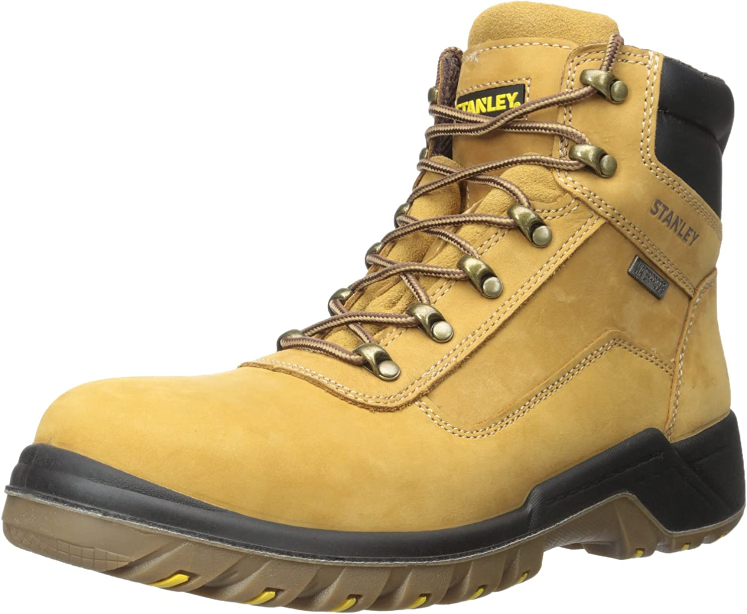 MENS BLUE STANLEY BEAM SAFETY WORK BOOTS FOOTWEAR STRONG TOUGH SIZE 11 NEW BOXED