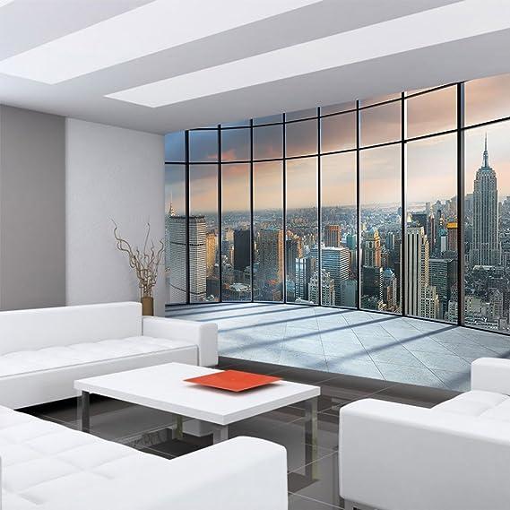 Fototapete Ausblick Panorama Manhattan New York Skyline liwwing no 1336