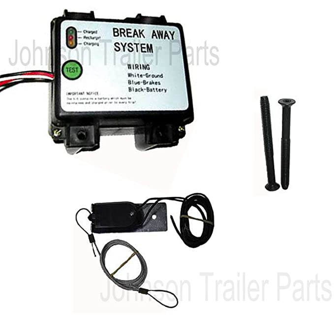 Amazon.com: Trailer Breakaway Kit - LED Readout - Breakaway Switch - Battery - Built-in Charging Circuit: Automotive