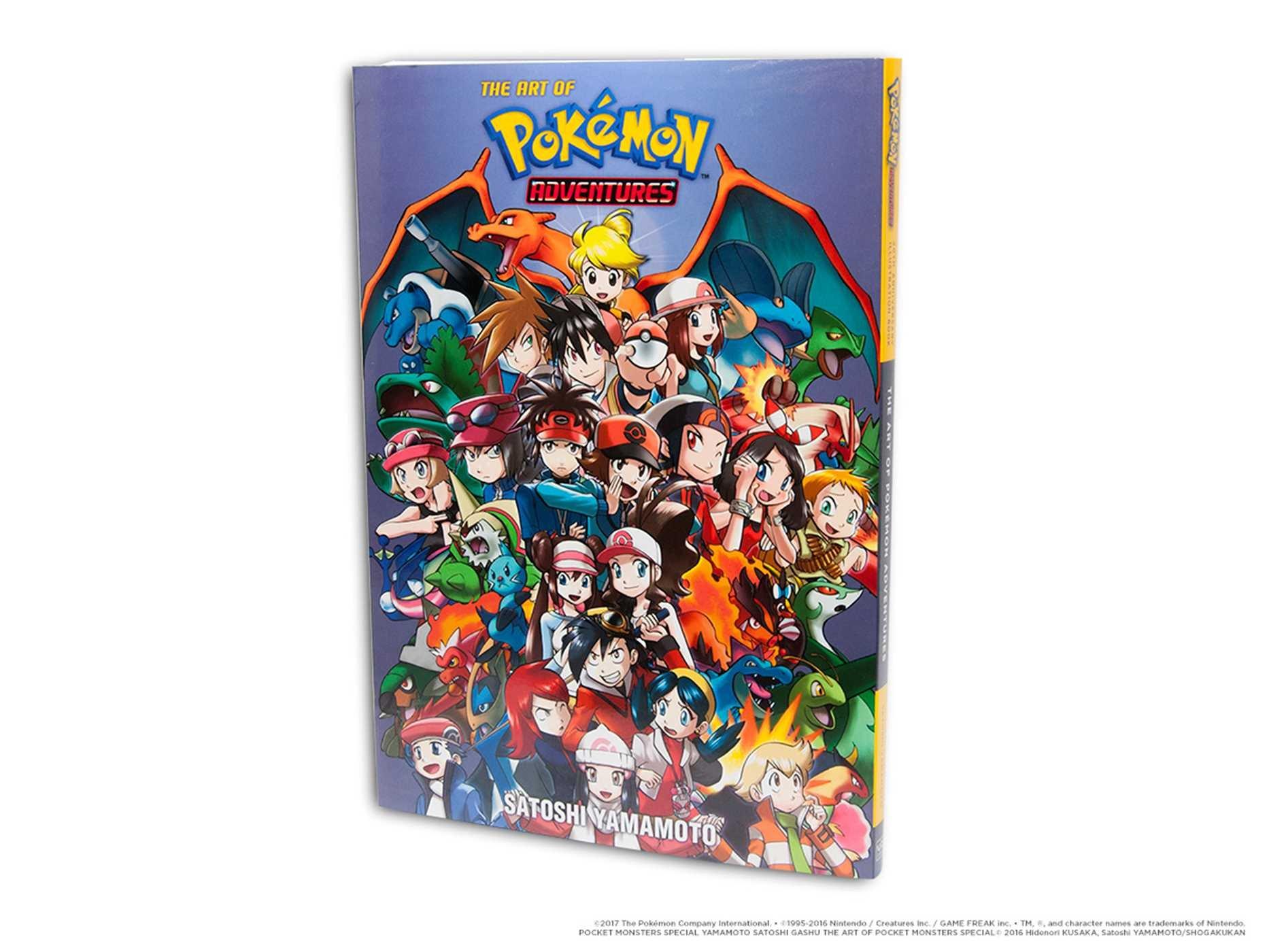 Pokémon Adventures 20th Anniversary Illustration Book: The Art of Pokémon Adventures (Pokemon) by VIZ (Image #3)
