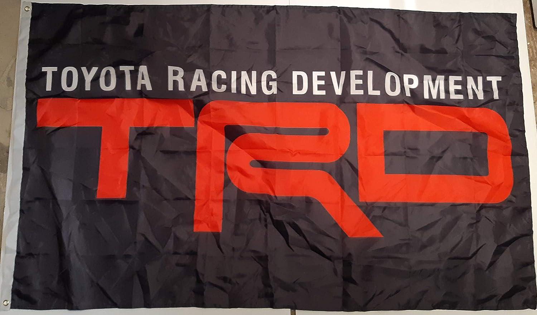 TRD Toyota Flag 3x5 ft Racing Development Banner Motor Sports Man-Cave Garage