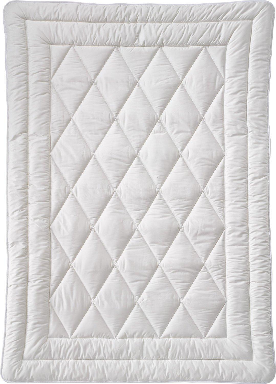 Billerbeck Bio-Steppbett Baumwolle wollweiß Größe 155x220 cm