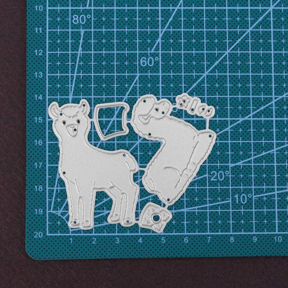 Demiawaking Erba Fustelle per Scrapbooking Cutting Die DIY Stencil Scrapbooking Album Foto Segnalibro Goffratura Fai da Te Artigianato