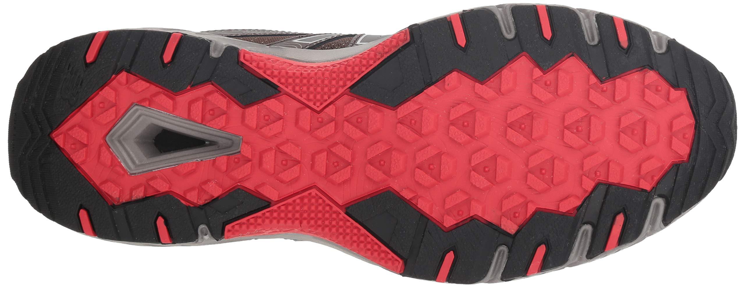 New Balance Men's 510v4 Cushioning Trail Running Shoe, Chocolate/Black/Team red, 7 D US by New Balance (Image #3)