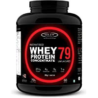 Sinew Nutrition Instantised Whey Protein Concentrate 79%, 2 Kg (Unflavoured)
