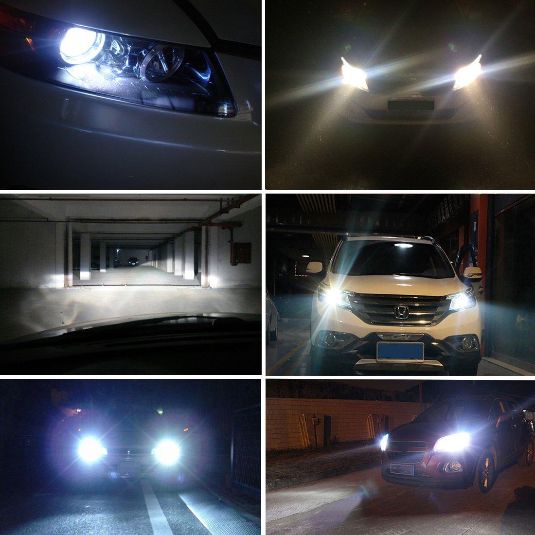 Safego AC PAIO LAMPADE AUTO HID Fari Luci H7 XENON 6000K 55W BIANCO 3400LM
