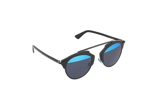 Dior DIORSOREAL Y0 B0Y Gafas de Sol, Negro (Black/Blue ...