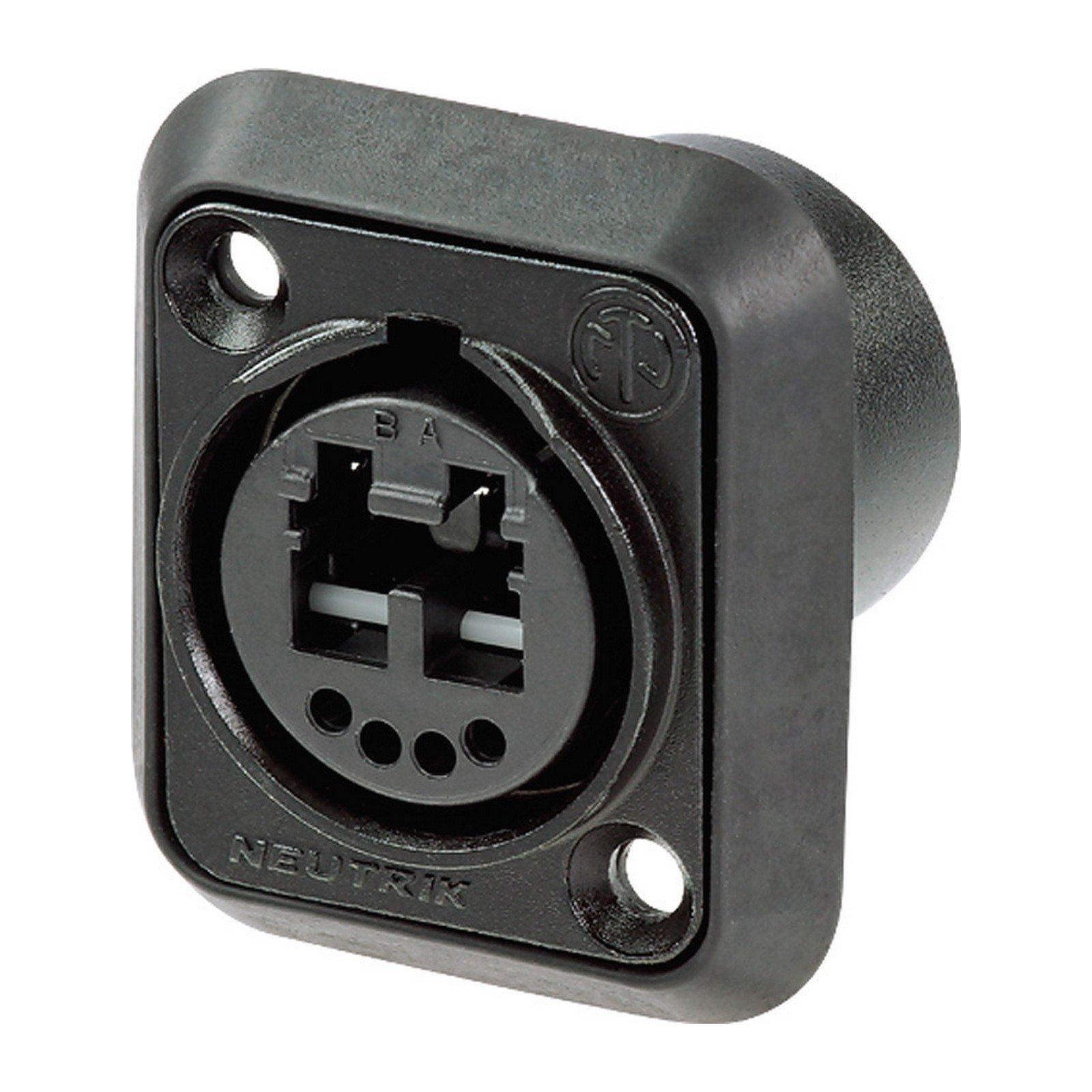 Neutrik NO2-4FDW-A Connector Fiber Optics