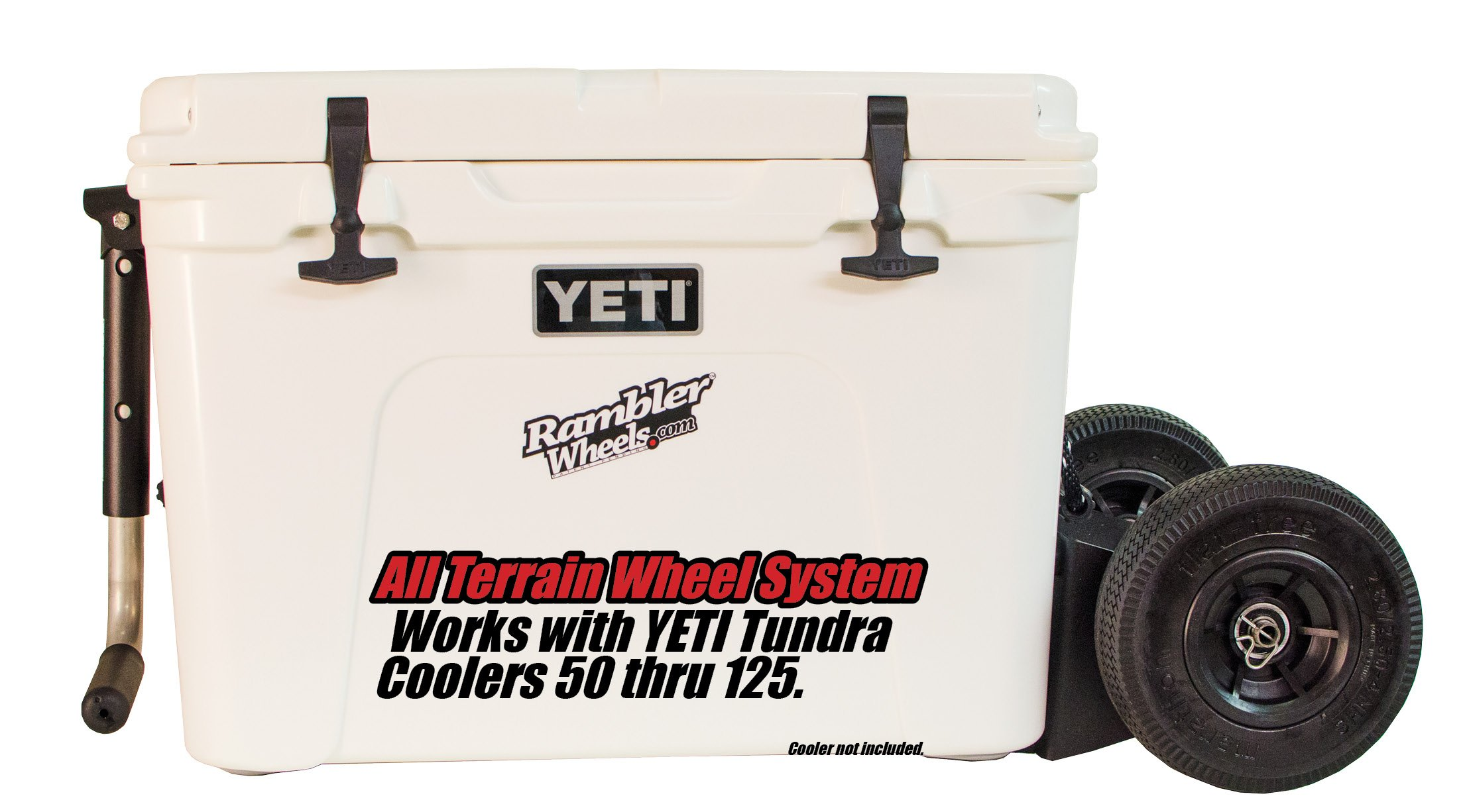 All Terrain Wheel System for YETI Cooler - The Rambler X2 by Rambler