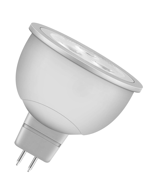 OSRAM LED Reflektor MR16 5, A+, 6W (35W-Ersatz) warmweiß 12V GU5.3 ...
