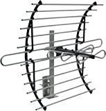 GE 33692 Attic Mount HD Antenna - Long Range - Compact Design with Mount for VHF/UHF Channels - 60 Mile Range
