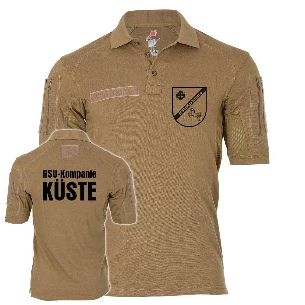 Tactical Poloshirt Alfa - RSUKp Küste Kompanie BW Militär Wappen Regionale Sicherungs- und Unterstützungskräfte  19315