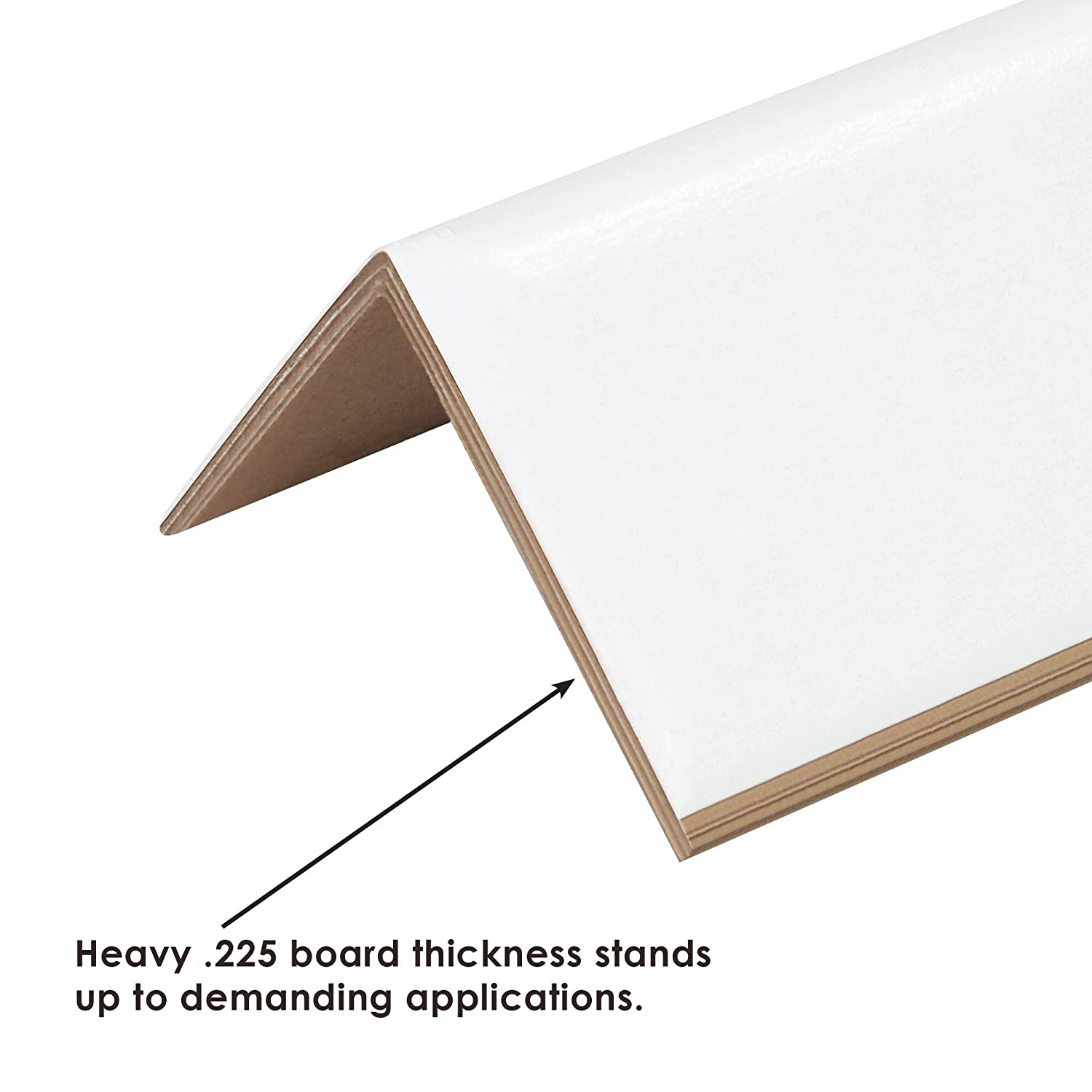 300//Case 2 x 2 x 6 Strapping Protectors.225 White