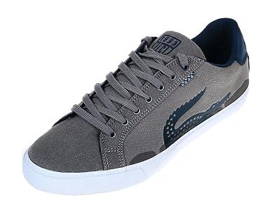 Chaussures Gris Clair Lacoste Toile Ortholite Grad Basses 0q6xP5nYPt