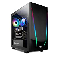 iBUYPOWER Pro Gaming PC Computer Desktop Trace 4 93G730 (AMD Ryzen 5 3600 3.6GHz, NVIDIA GeForce GT 730 2GB, 8GB DDR4 RAM, 240GB SSD, WiFi Ready, Windows 10 Home)