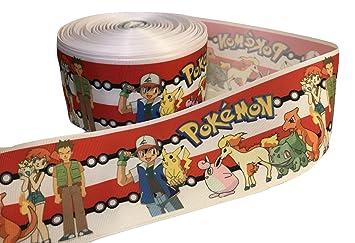 1 metro de Pokemon Go Color Rojo y Blanco Rayas Cartoon ...