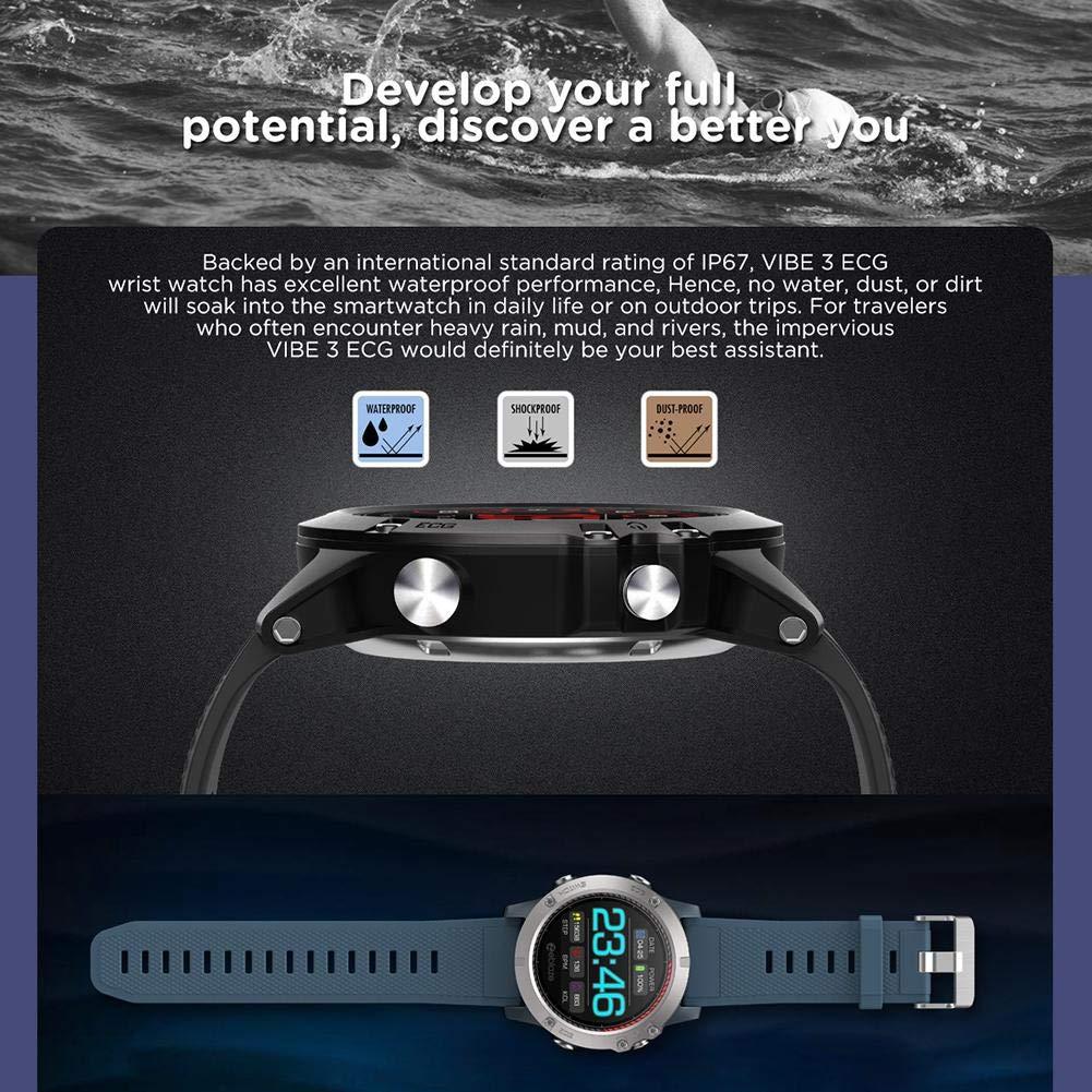 applyvt Zeblaze Vibe 3 ECG Smartwatch Greencell: Amazon.es ...