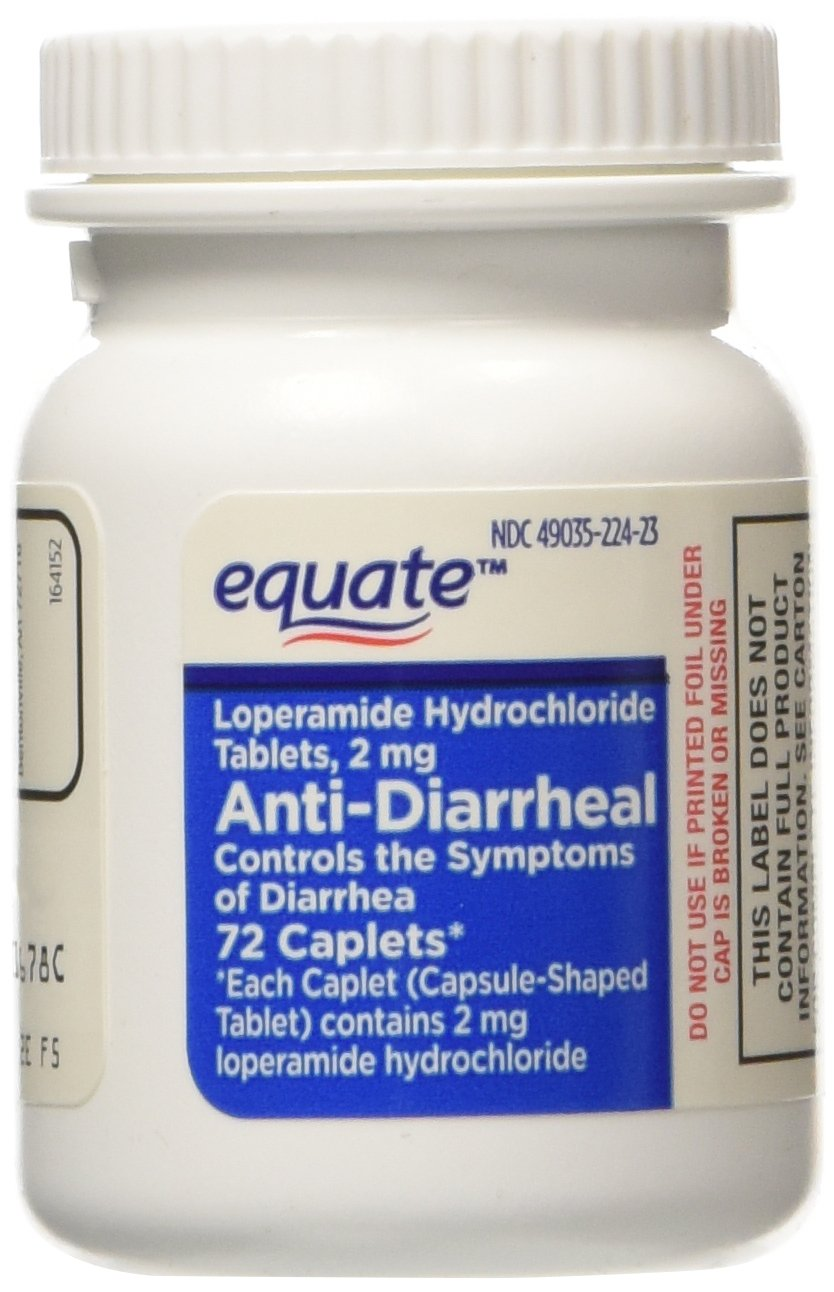Equate - Anti-Diarrheal, 72 Caplets (Compare to Imodium A-D) (1) by Equate