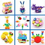 Simuer 36 Pack Modeling Clay Fluffy Slime, 36
