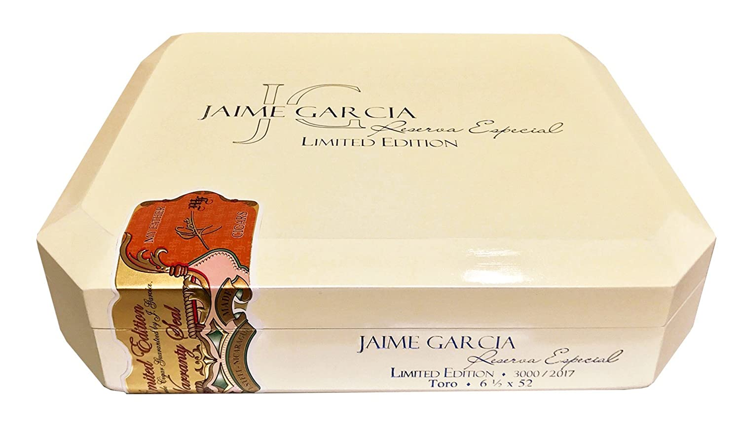 Amazon.com: Cigar Wood Case/Box Jaime Garcia Reserve Especial Limited Edition (Empty-Used): Health & Personal Care